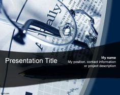 Economics News PowerPoint template is a free economics PowerPoint background template for presentations on economics news