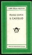 "Franz Kafka ""Il Castello"" Mondadori, 1958"
