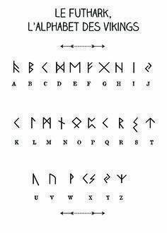 Royalty Free Vikings Rune Tattoo Designs Futhark Canyons Run Run Magic . - Royalty Free Vikings Rune Tattoo Designs Futhark Canyons Run Run Magic … – The Best Tattoos – - Viking Rune Tattoo, Viking Tattoos, Viking Tattoo Design, Alphabet Code, Alphabet Symbols, Sign Language Alphabet, Nordic Alphabet, Aramaic Alphabet, Greek Alphabet