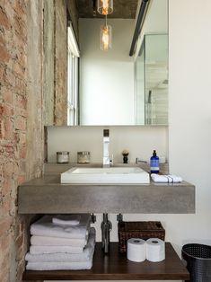 Decoração com concreto