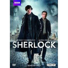 Sherlock: Season Two (DVD set, currently $19.96 on Amazon.com; list price $29.98)