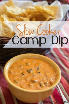 Slow Cooker Camp Dip Recipe - A Mom's Take