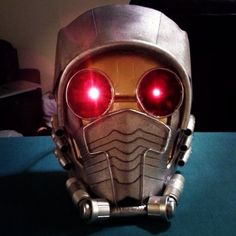 STAR LORD ON A BUDGET -- making a Star Lord helmet from Guardians of the Galaxy. #cosplay #tutorial