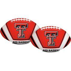 "Rawlings Texas Tech Red 8"" Softee Football"