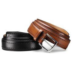 Manistee - Men's Premium Leather Dress Belts by Allen Edmonds Color: Walnut Size: 40 Brown Belt, Brown Shoe, Allen Edmonds Belt, Leather Belts, Leather Men, Leather Accessories, Fashion Accessories, Fashion Bags, Mens Fashion