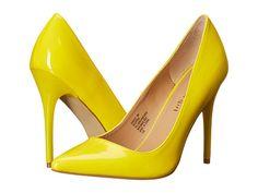 46f782f9875 Madden Girl Ohnice Yellow Patent - 6pm.com Yellow Pumps
