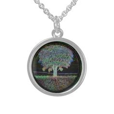 Tree of Life Excellence Sterling Silver Necklace. This necklace was made by Amelia Carrie and is Sterling Silver and available at the TreeofLifeShop.com which features trees of life, yin yangs, peace symbols and other positive and inspirational art.