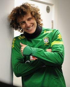 David Luiz - Brazil Training and Press Conference