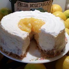 Meyer Lemon New York Style Cheesecake