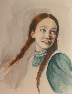 Anne Shirley, Lucas Jade Zumann, Gilbert And Anne, Amybeth Mcnulty, Art Hoe Aesthetic, Anne With An E, Harry Potter Drawings, Chronicles Of Narnia, Kawaii Anime
