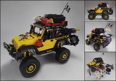 LEGO Ideas - Modified Jeep Rubicon