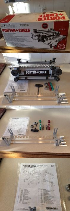 Jigs and Templates 179686: Porter-Cable 12 Deluxe Dovetail Jig 4212 In Box -> BUY IT NOW ONLY: $89.99 on eBay!