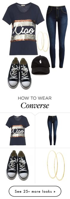 """""""Untitled #752"""" by zeniboo on Polyvore featuring Lanvin, Converse and Lana"""
