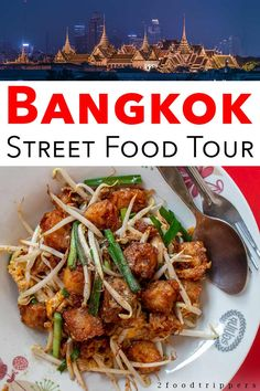 Taking a food tour is the best way to experience street food in Bangkok. See what its like to take a Bangkok street food tour and eat some of the citys best Thai food. #Bangkok #Thailand #BangkokFood #BangkokStreetFood #FoodTour