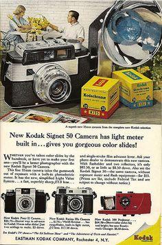 Publicidad Kodak Retro.