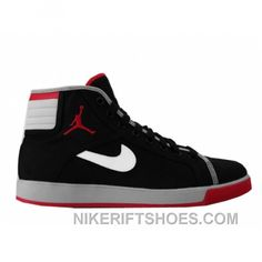 wholesale dealer 7aa70 4c76d Air Jordan Sky High Canvas Black Varsity Red White Cement Grey 407282-001  Super Deals, Price   75.00 - Nike Rift Shoes