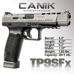 Century Arms has announced that the newest addition to the Canik line is shipping and will be available through major distributors and retailers nationwide.