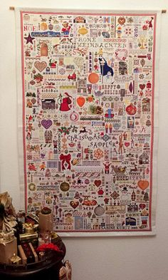 A FAMILY CROSS STITCH SAMPLER - Christmas - La Couronne CouronneLa