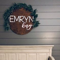 Girl Names Discover Nursery Name Sign 24 inch wooden round name plate baby room decor wall art baby shower name reveal Ideas baby decor floral nursery Wood Nursery, Nursery Room Decor, Chic Nursery, Rustic Nursery, Girl Nursery, Wall Decor, Whimsical Nursery, Vintage Nursery, Nursery Signs