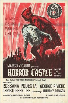 Horror Castle (1963) with Christopher Lee