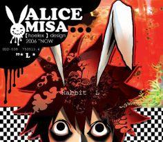 ★【ALICE MISA心夢少女】主插畫。 TOOSB 的 黑眼圈 之前設計CD唱片的封面~~~