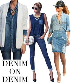 Trending: Denim on Denim