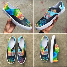 A Head Full of Dreams shoes designed by @dreicaceres (on twitter)