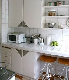 1000 images about departamentos on pinterest one - Como decorar cocina pequena ...