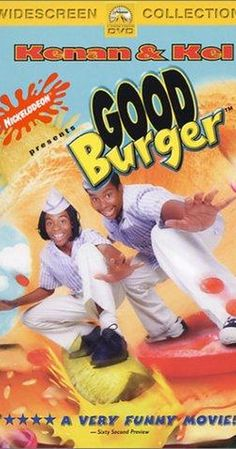 "Directed by Brian Robbins.  With Kel Mitchell, Kenan Thompson, Sinbad, Abe Vigoda. Two dim-witted teenagers are forced to save the fast food restaurant they work at from going out of business, despite a new-and-improved burger joint opening across the street that want to be the ""Top Dog"" in the fast food industry."