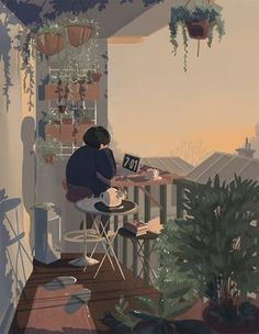 Uploaded by Find images and videos about gif, art and illustration on We Heart It - the app to get lost in what you love. Art And Illustration, Korean Illustration, Cartoon Illustrations, Inspiration Art, Art Inspo, Aesthetic Art, Aesthetic Anime, Aesthetic Drawing, Korean Aesthetic