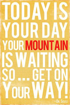 A great #hiking #quote to download and print from This Kalil Life: Printables