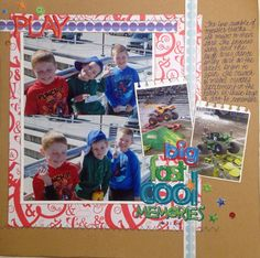 I did this layout for case #165 challenge on csicolorstoriesinspiration.ning.com/