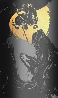 Vargold Norse Vodka by ILOVEDUST, via Behance android iphone wallpaper background
