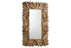 Swanson Oversize Mirror, Brown
