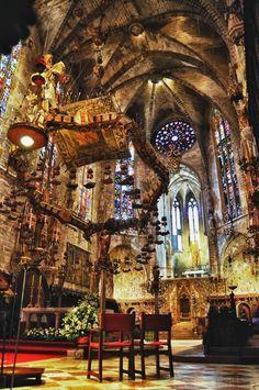 la cathédrale de palma de majorque, les plus beaux lieux à visiter en majorque