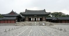 Main Throne Hall - Changgyeonggung Palace, Seoul, South Korea