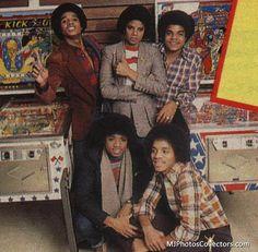 Tito Jackson, Jackie Jackson, Jermaine Jackson, The Jackson Five, Randy Jackson, Jackson Family, Young Michael Jackson, Michael Love, Berry Gordy