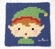 Santa's little helper is ready to join the Crochet Christmas Character Afghan! The Elf is square number 5 of 9 Christmas themed C2C crochet squares and when they are all finished, I will stitch them together into one large afghan! As I finish each square, I will post the graph and reveal the next character/image in the blanket. Feel free to …