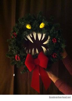 How's this wreath for Christmas?