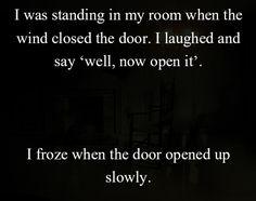 Two sentences Horror Stories