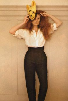 Grace Coddington...one of the most respected creative directors in the biz. Love her.