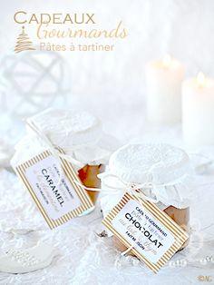 Cadeaux gourmands #2 - Sauce caramel à la clémentine - Pâte à tartiner au chocolat au lait & thym