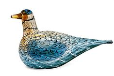 Bird Design, Glass Design, Design Art, Glass Animals, Glass Birds, Nordic Design, Painted Paper, Blue Art, Wood And Metal