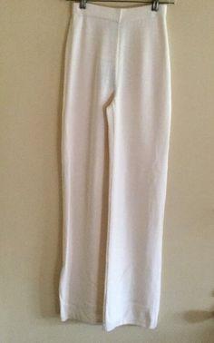 St John Collection Marie Gray Santana Knit Elastic Waist Pants XS NWT    eBay