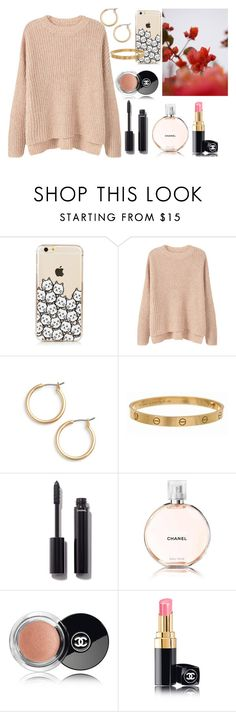 """Untitled #170"" by mysticsjy ❤ liked on Polyvore featuring MANGO, Nordstrom, Cartier, GUINEVERE and Chanel"