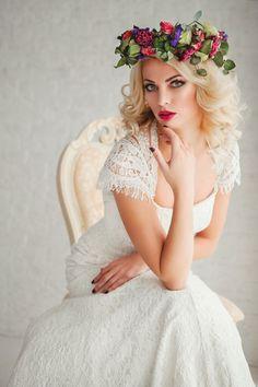 Bridal hairstyle//model