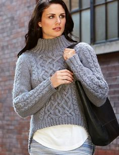 Grey asymmetric sweater