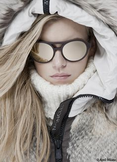 Mykita & Moncler. #winterfashion #eyestyle