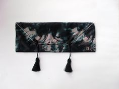 Nylon Elongated Clutch with Tassle Detail by nvartewear2 on Etsy, $42.00  not so naughty tassles;)