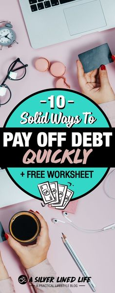 How to pay off debt quickly from credit card debt to loan debt check out this AMAZING post printables All the tips you need including Dave Ramsey advice stories motivati.